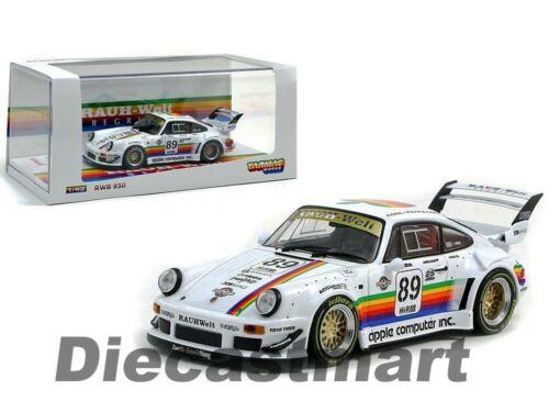 Tarmac Works 1:43 Rauh-Welt Begrief Porsche Rwb 930 Apple #89 Weiß T43-013-AP