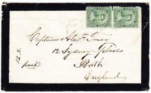 Canada Colony-Sg #39 (Paio) Crease-Montreal Ap /28/ 65-DOUBLE Tariffa A England
