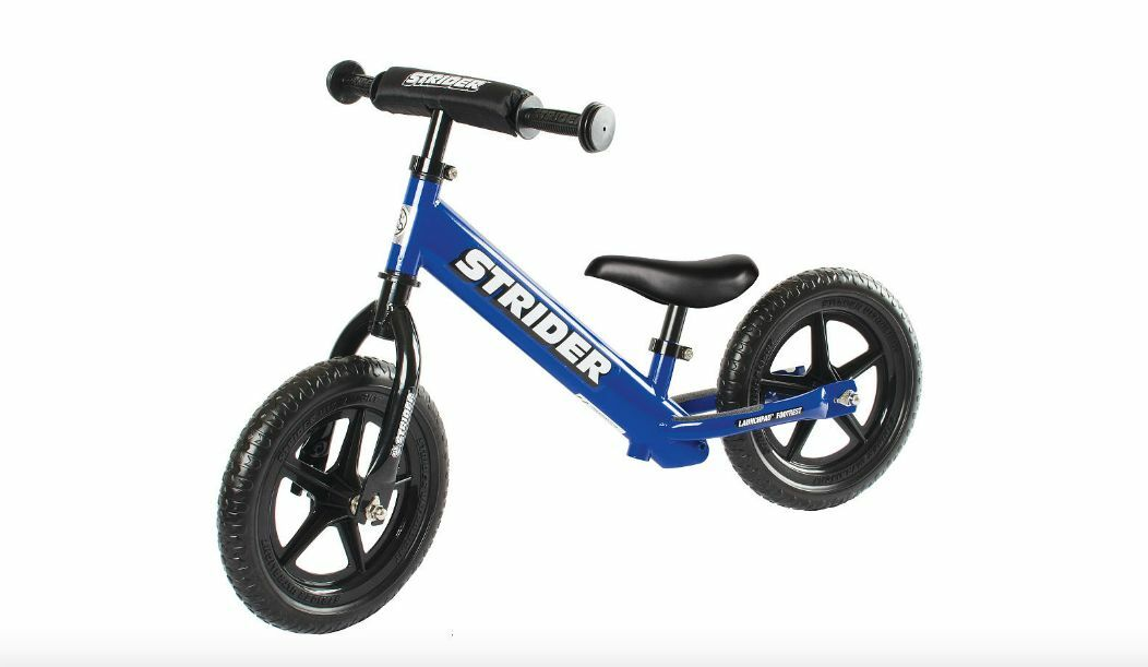 Strider 12 Sport Kids No-Pedal Balance Bike, Ages 18 Months-5 Years Training New