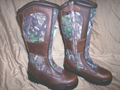 Womens Boots Snake Proof Boots Water Proof Boots Camo Hunting Boots Leather 9