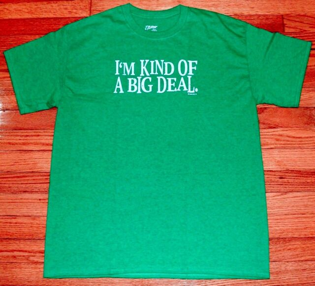 Im Kind of a Big Deal Ladies T Shirt Funny Movie Quote Anchorman Ron Burgundy