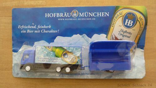 """DGD 1:87 Iveco camiones con carro de venta /""""Hofbräu munich/"""" #25025#"""