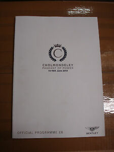 Official-Cholmondeley-pageant-of-power-2013-programme