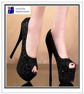 High Heel Stilettos New rhinestone Platform Pumps Ladies Wedding Party shoes