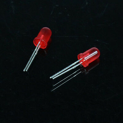 LED  100pcs 3mm 5mm Round Light-emitting diode Mix Color  Red Yellow Green  New