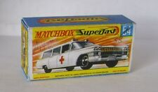 Repro Box Matchbox Superfast Nr.54 Cadillac Ambulance