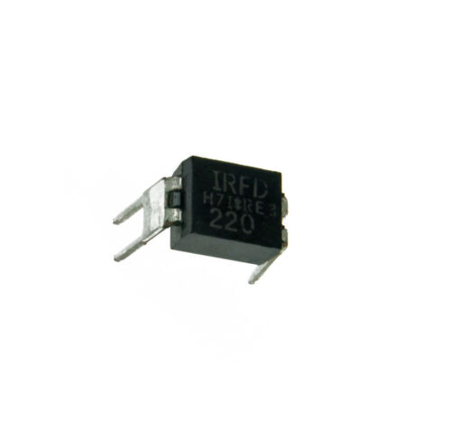 10 PCS NEW IRFD220 N channel DIL-4 MOSFET/'s  NEW CK