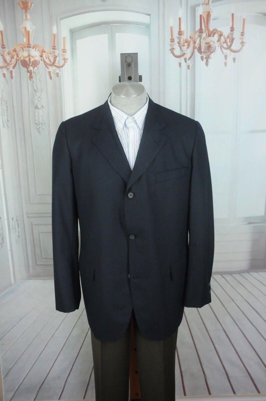 Brooks Brothers 346 Herren Marineblau Wolle Sport Mantel Blazer 46L 46 L