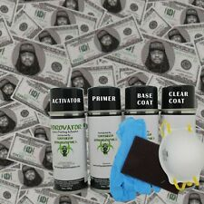Hydrographic Film Water Transfer Hydro Dipping Activator Paint Kit Benjamins