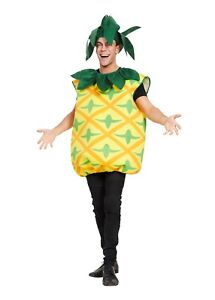 Hen Night Adult Mens Womens One Size Pineapple Fruit Costume Fancy Dress Stag