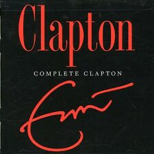 Complete Clapton by Eric Clapton (CD, Oct-2007, 2 Discs, Warner Bros.)