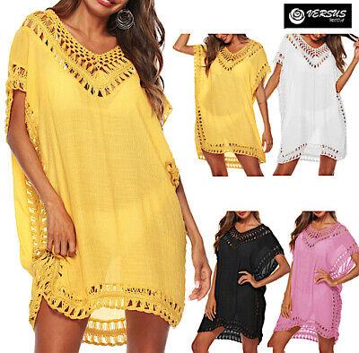 Vestito Mini Copricostume Mare Donna Caftano Woman Beach Dress Cover Up Cov0065