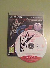 Gran Turismo 5 (PS3) GT5, firmado por / signed by: Kazunori Yamauchi