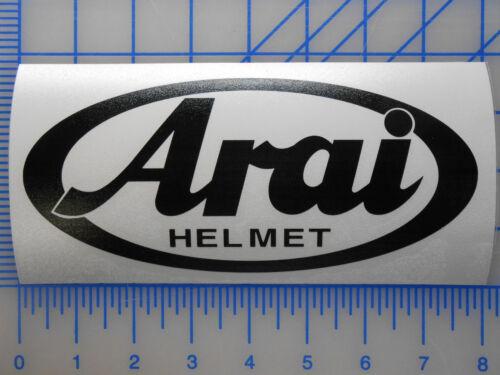 "Arai Helmet Logo Decal Sticker 5.5/"" 7.5/"" 11/"" Corsair Vector Signet RX XD4 VX"