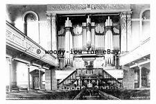 pt9863 - Heckmondwike , Pipe Organ in Upper Chapel , Yorkshire - photograph