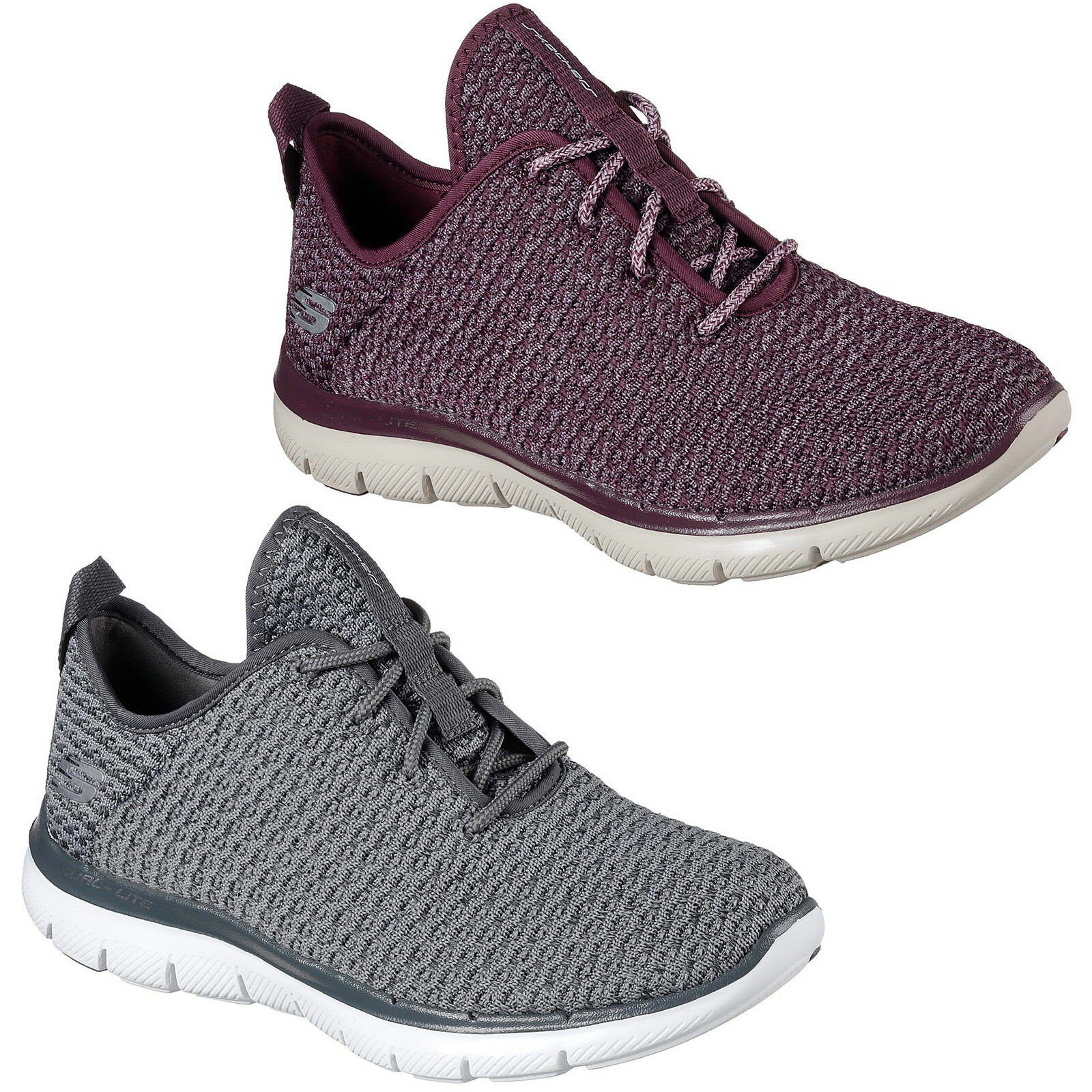 Skechers Flex Appeal 2.0 Bold Move Trainers Memory Foam Sports Schuhes Damenschuhe