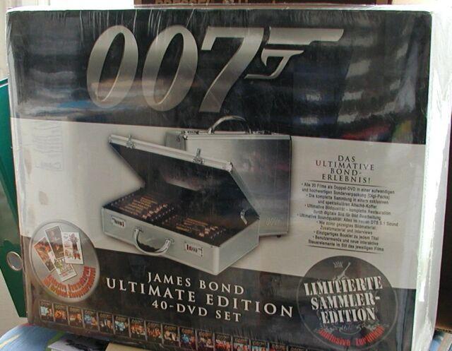 40-DVD Set - James Bond 007 - Limitierte Sammler Edition