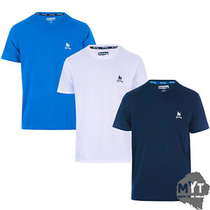 Money-Clothing-Mens-Elgon-3-Pack-T-Shirt-Blue-Navy-White-Tee-All-Sizes-Lounge