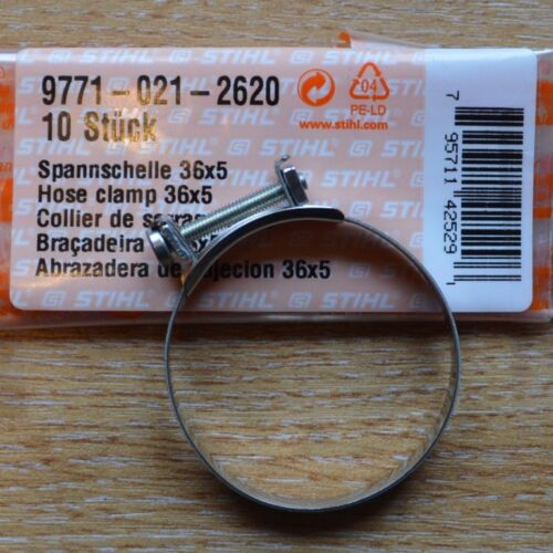 Genuine Stihl Inlet Manifold Clamp TS800 TS700 TS400 Cut Off Saw 9771 021 2620
