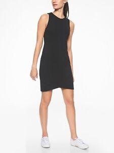 Athleta-La-Palma-Dress-sz-S-Small-Black-Packable-Super-Soft