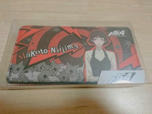 P5R Persona 5 THE ROYAL Official Limited Wallet Makoto Nijima