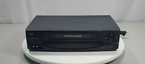 Philips-Magnavox-VRA631AT22-4-Head-Video-Cassette-Recorder-VHS-Player