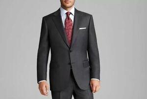 2475-Canali-Men-039-S-Us-54r-Eu-64r-Grey-Classic-Fit-Sport-Coat-Blazer-Jacket-Italy