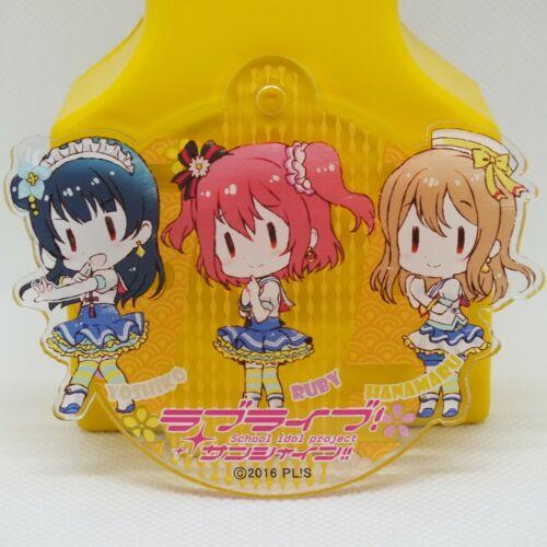 Love Live Sunshine Aqours Acrylic Key Chain Nebuta Fes Hanamaru Ruby Yoshiko