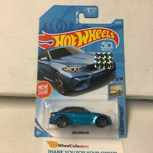 2016-BMW-M2-121-BLUE-Limited-FACTORY-SET-2018-Hot-Wheels-F5