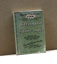 DICCIONARIO ESPANOL-INGLES [Libro, editorial Ramon Sopena,S.A.]