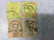 1887 Siam Thailand 4 Old Stamps