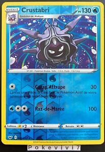 Carte Pokemon CRUSTABRI 041//202 Rare Epée et Bouclier 1 EB01 FR NEUF