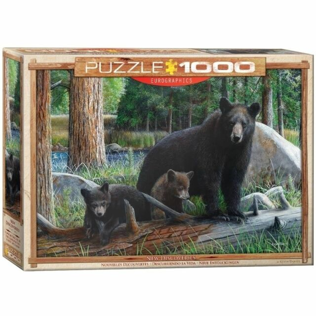 EG60000793 - Eurographics Jigsaw Puzzle 1000 Piece - New Discoveries