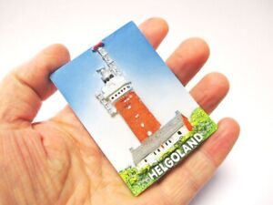 Helgoland-Norsee-Insel-Poly-Magnet-Reise-Souvenir-Germany-Leuchtturm
