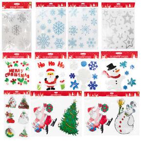 Weihnachten Artikel.Details Zu Weihnachten Fenster Aufkleber Deko Artikel Gel Aufkleber Selbstklebend Sticker