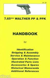 walther pp ppk 7 65mm assembly disassembly manual no 29 rh ebay com