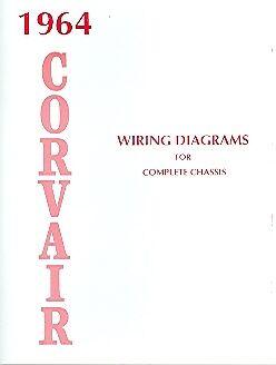 1964 CORVAIR 500 700 900 WIRING DIAGRAM MANUAL | eBay