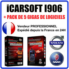 Valise Diagnostic VOLVO & SAAB - iCarSOFT I906 - VIDA DICE PRO CDP+