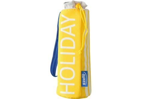 Flaschenkühler EZETIL Holiday gelb 2,4 L Kühlung Thermo Isolier Kühltasche NEU