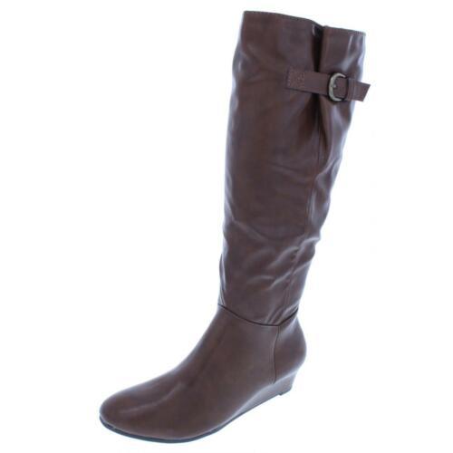 Style /& Co B,M BHFO 6104 Womens Rainne Brown Riding Boots Shoes 7 Medium