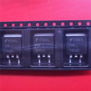 10PCS-5N50-FQB5N50C-TO263-5A-500V-new-MOS-FET