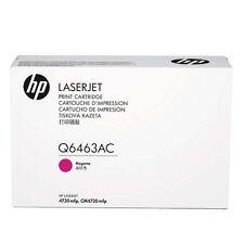 originale HP Toner Q6463AC Q6463A per 4730 Magenta A-Ware