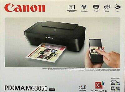 Canon PIXMA MG3050 Multifunktionsdrucker WLAN-Drucker ...