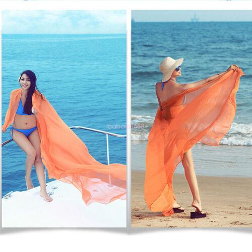 120*150 Cm Women Wrap Dress Sarong Pareo Beach Bikini Swimwear Cover Scarf