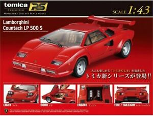 Takara-Tomy-TOMICA-RS-PREMIUM-Lamborghini-Countach-LP-500-S-1-43-DIECAST-CAR-NEW