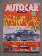 Autocar (24 March 1993) Dodge Viper Coupe, Honda Accord, Seat Ibiza, Jaguar XJ