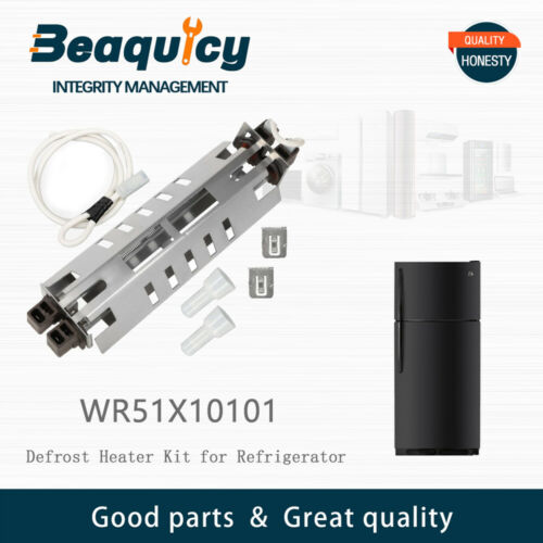 WR51X10101 Defrost Heater Kit for GE Refrigerator Temperature Sensor by Beaquicy
