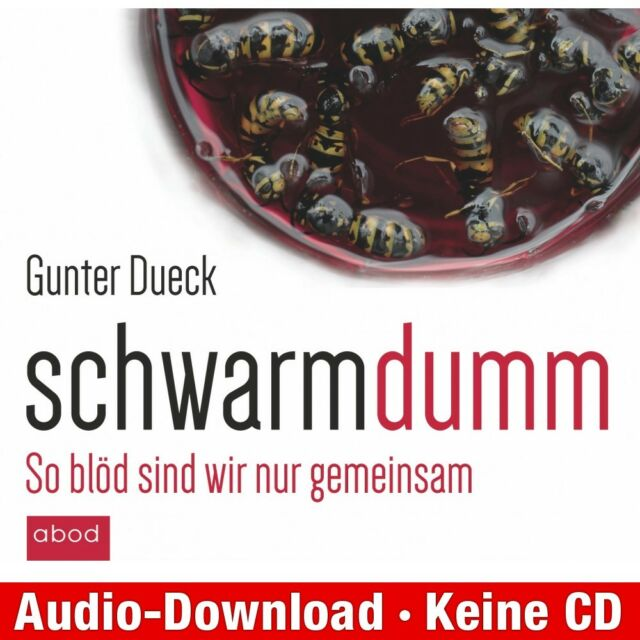 Hörbuch-Download (MP3) ★ Gunter Dueck: Schwarmdumm