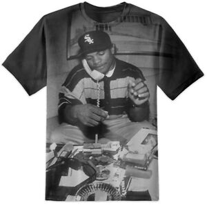 the latest 58dfe bb811 Details about EAZY E T SHIRT 63 ALL OVER PRINT - NWA STRAIGHT OUTTA COMPTON  DRE ICE CUBE EASY