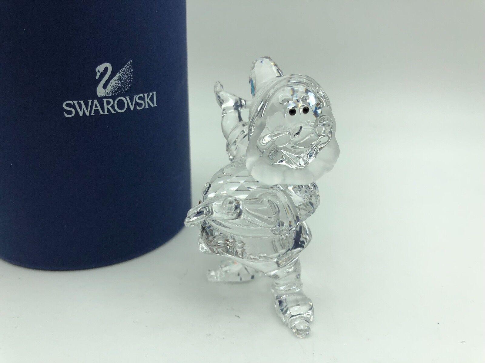 Swarovski Figurine Blanche Neige Nain 7,2 cm avec avec avec neuf dans sa boîte & certificat. Excellent état | Aspect élégant  636b58